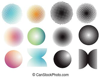 Screen tone dot