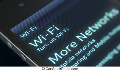 """screen"""", """"wi-fi, informatique, fermé"""