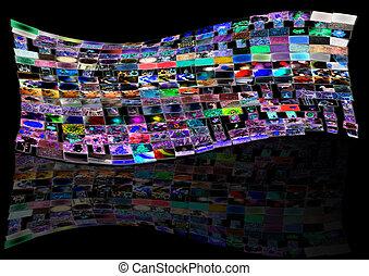 Screens Photo Studio Panel