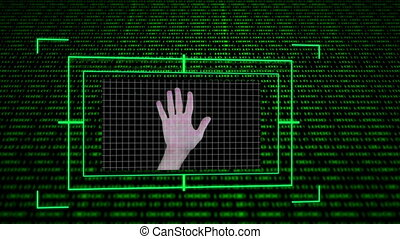 Screens showing computing science