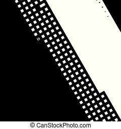Distress pixelated digital error background. Glitch Grunge Overlay Black diagonal Texture. EPS10 vector.
