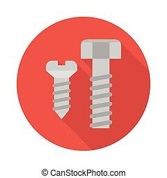screw flat icon