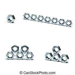 screw nuts