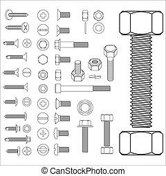 screw set - screw