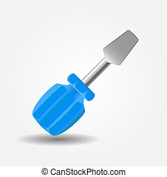 Screwdriver icon vector illustration