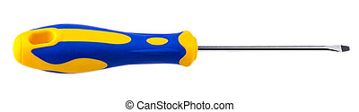 Screwdriver isolated on a white background.