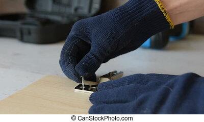 screwdriver., vis, visser, électrique