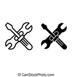 screwdriwer, reparatur, stil, verstellbar, 10.,...