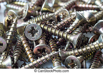 Screws closeup