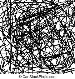 Scribble - Grunge scribble texture for your design. EPS10 ...