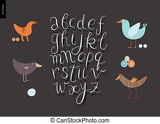 Script alphabet 5