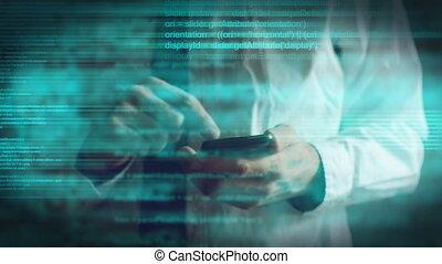 script programming on mobile phone