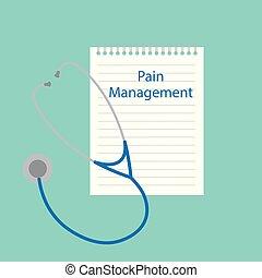 scritto, amministrazione, dolore, quaderno