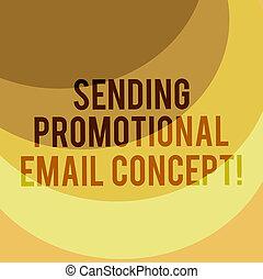 scrittura, nota, esposizione, invio, promozionale, email, concept., affari, foto, showcasing, linea, marketing, moderno, pubblicità, a più livelli, arco, multitone, spazio copia, per, manifesto, presentazioni, web, design.