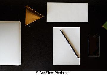 scrivania, top., desktop