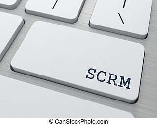 scrm., informática, concept.