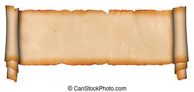 scroll., 羊皮紙
