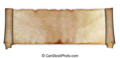 scroll., oud, perkament