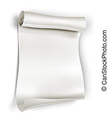 scroll papel