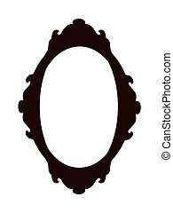 Scrolled oval designe - Ornate scrolled oval designe