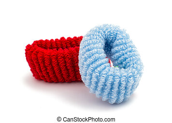 scrunchy isolated
