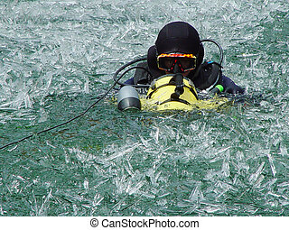 Scuba in winter