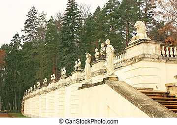 Sculptural group of classical style