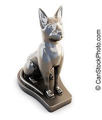 Sculpture cats