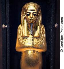 sculpture, depuis, les, tombeau tutankhamun