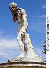 Sculpture in Jardin des Tuileries - A sculpture by Henri...