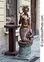 Sculpture in Lviv