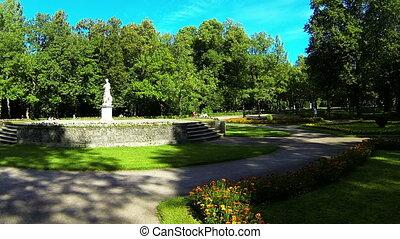 Sculpture in the Park of Pavlovsk