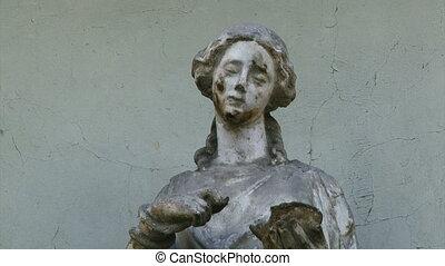 Sculpture, man, medicine