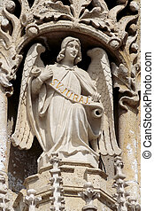 Sculpture of an angel