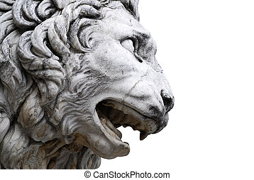 Sculpture of lion