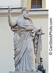 Sculpture of St. Paul