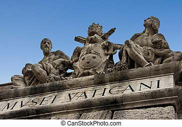 Sculpture on the Museums of Vatican