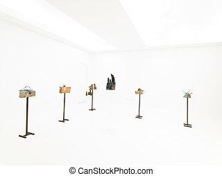 sculture, exposición, contemporáneo