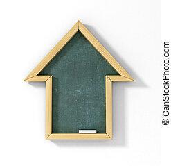 Casa disegno architettonico prospettiva clipart cerca for Aprire piani casa concetto
