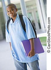 scuola elementare, pupilla, esterno