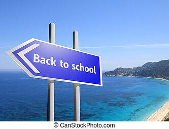 scuola, indietro