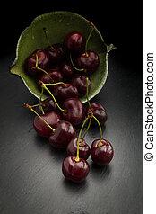 scuro, ciliegia, rosso