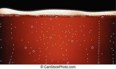 scuro, immagine, birra