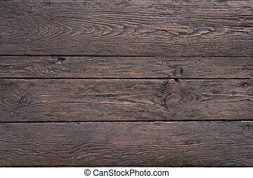 scuro, legno, vecchio, struttura