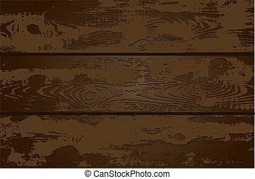 scuro, legno, vettore, illustrazione, struttura