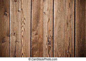 scuro, recinto legno, fondo