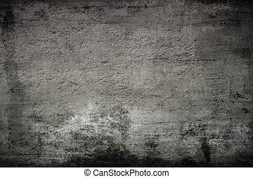 scuro, vuoto, vecchio, parete