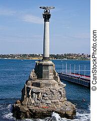 scuttled, schepen, monument