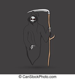 scytheman, mort