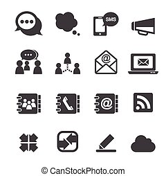 sdělování ikona